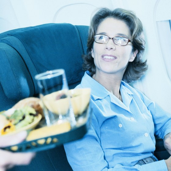 Special meals are usually available on long domestic and international flights.