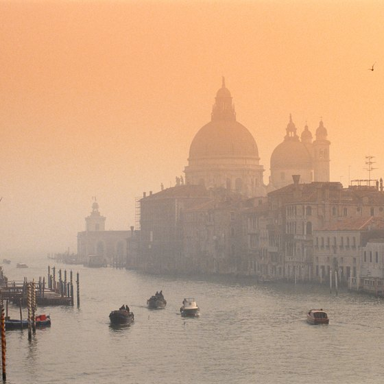 With views like this one in Venice, it's no wonder Italy is one of the most visited countries in the world.