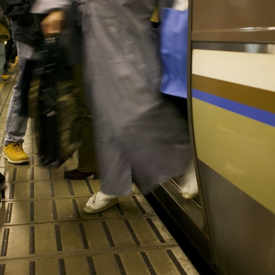 Train travel in Tokyo may seem confusing, but the stations are foreigner-friendly.