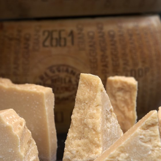 "See Parmesan cheese produced on its ""hometown"" soil -- and taste it, too."