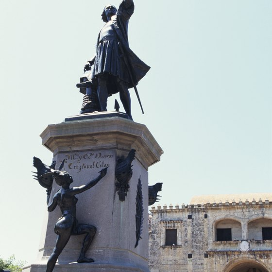 Christopher Columbus' legacy looms large over Santo Domingo.