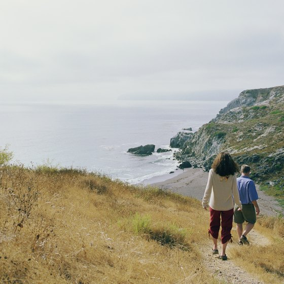 Catalina Island has plenty of walking trails for active travelers.