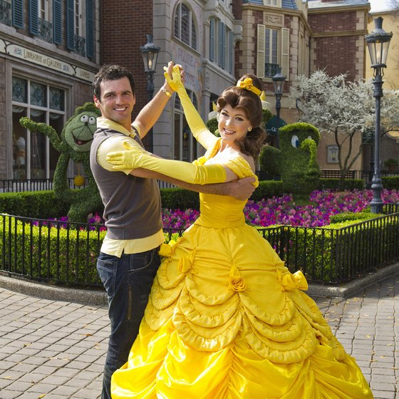 Meet favorite fairytale characters at Magic Kingdom park in Walt Disney World.