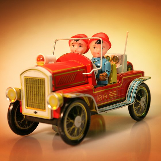 Anyone who loves toys and trucks must stop at the Bay City Antique Toy and Firehouse Museum.