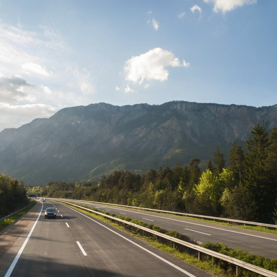 When you drive on the Autobahn in the Austrian mountains or anywhere in Europe be certain you are covered by insurance.