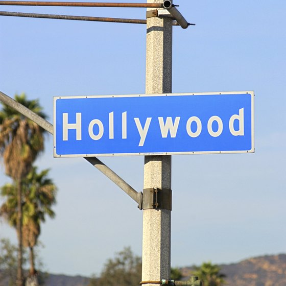 The Hollywood Bowl is off Highland Avenue just above Hollywood Boulevard.