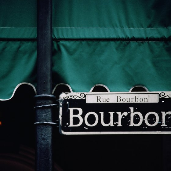 Staying just a block off Bourbon Street can be both quieter and less expensive