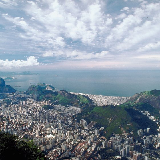 Rio de Janeiro is just one of Brazil's attractions.