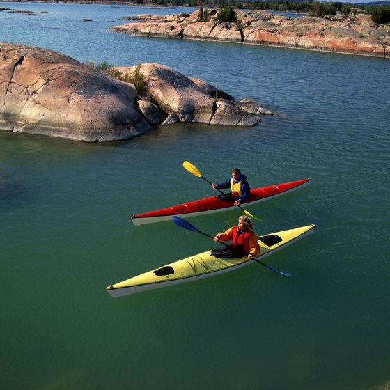 Explore the Georgian Bay archipelago by kayak.