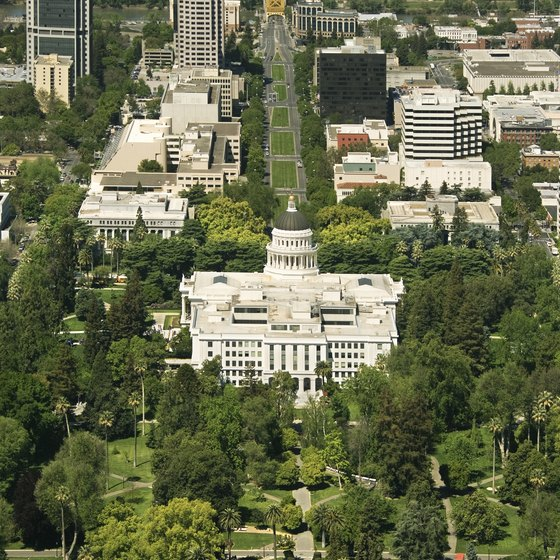 Visitors to Sacramento can take in the California State Capitol Building.
