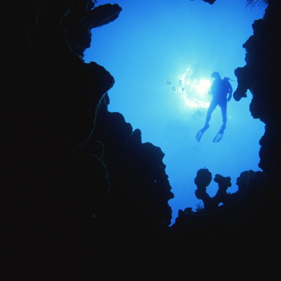 Cave diving is also a popular option in Puerto Rico.