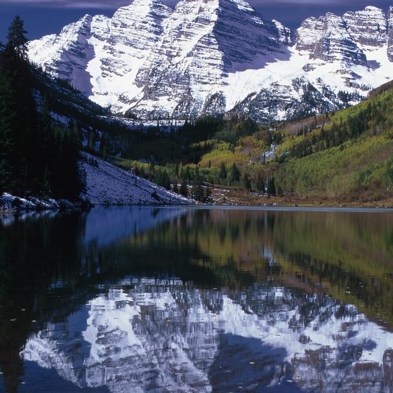 The Maroon Bells, a short trip from Snowmass Village, are the most-photographed peaks in North America.