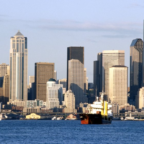 See Seattle's skyline on a day cruise.