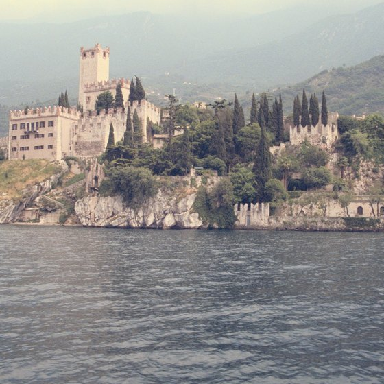 Lake Garda is a beautiful summer vacation destination, with lovely scenery and picturesque villages.