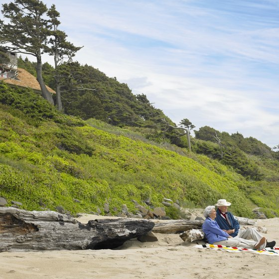 Oregon's rugged coast offers a number of vacation rentals, hotels and motels.