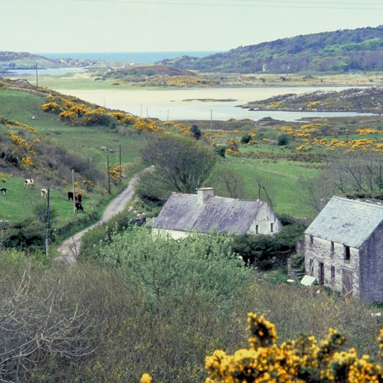 The Irish countryside is laid-back and popular for backpackers.