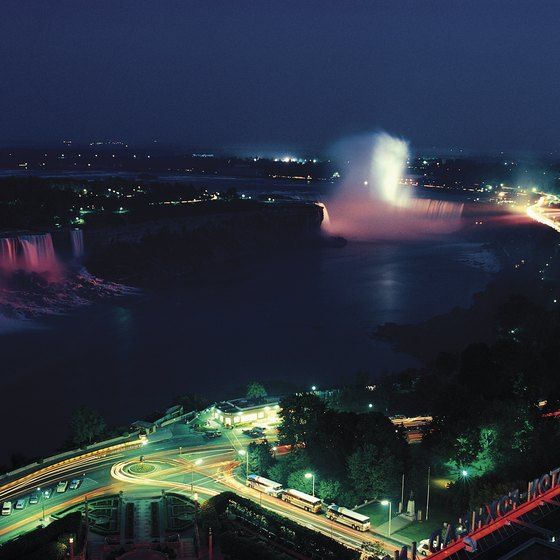 Niagara Falls, with several casinos, is within driving distance from Rochester.