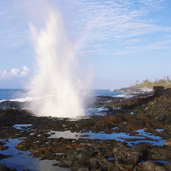 Besides the ever-present sea, Kauai offers a slew of natural wonders.