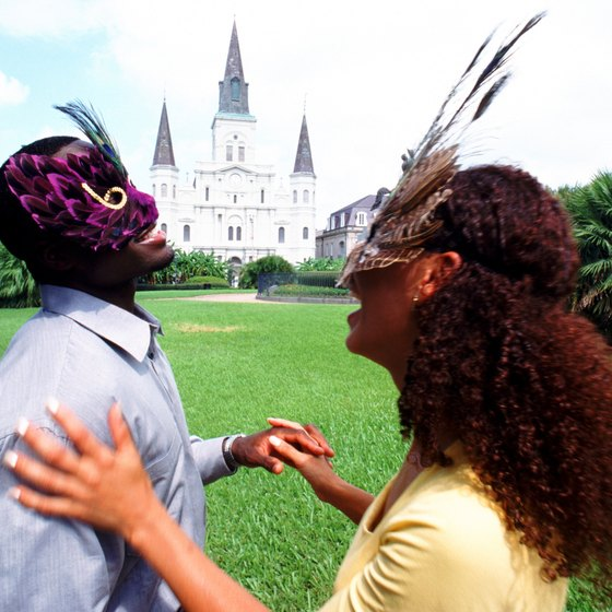 Enjoy Mardi Gras and New Orleans while staying at a historic hotel.