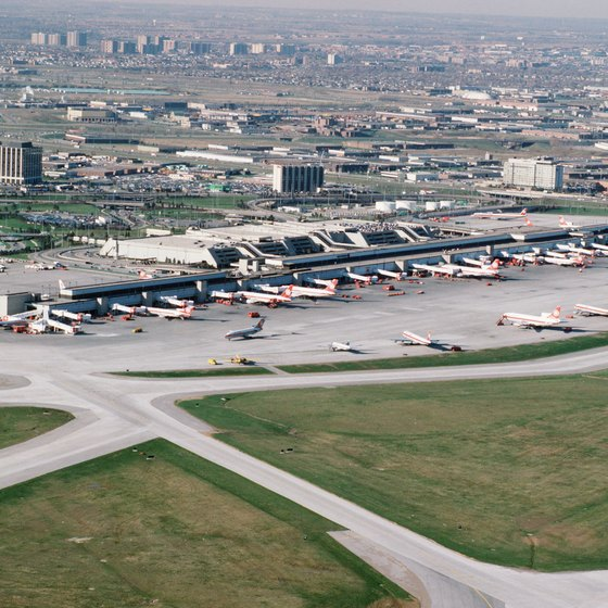 Some restaurants on Dixon Road are close to Toronto Pearson International Airport.