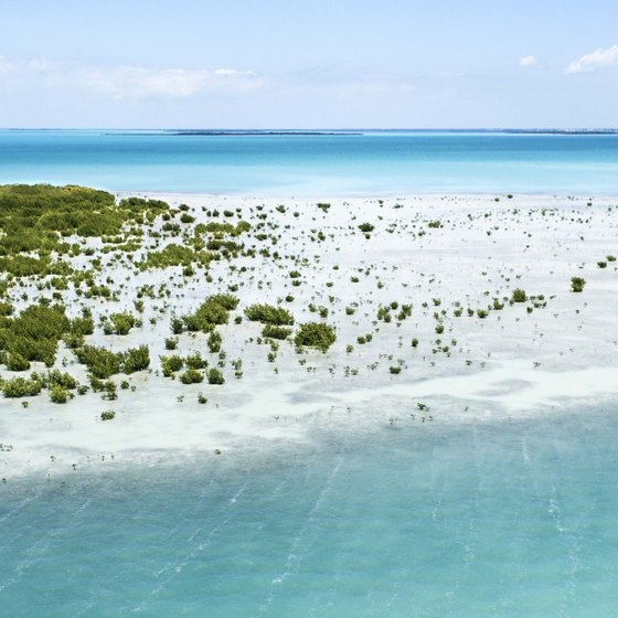 Key Largo's sandy beaches and clear waters make it a popular tourism destination.