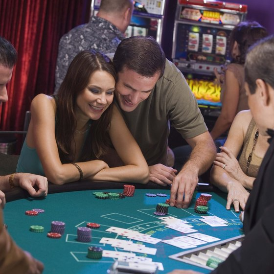 Casinos in Norman offer table games.