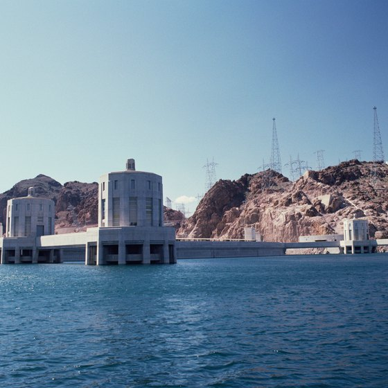 Best Places Take Pictures Arizona: Tour Of The Hoover Dam From Phoenix, Arizona