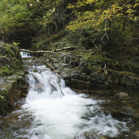 New York's Adirondack Mountains are full of streams, serenity and romance.