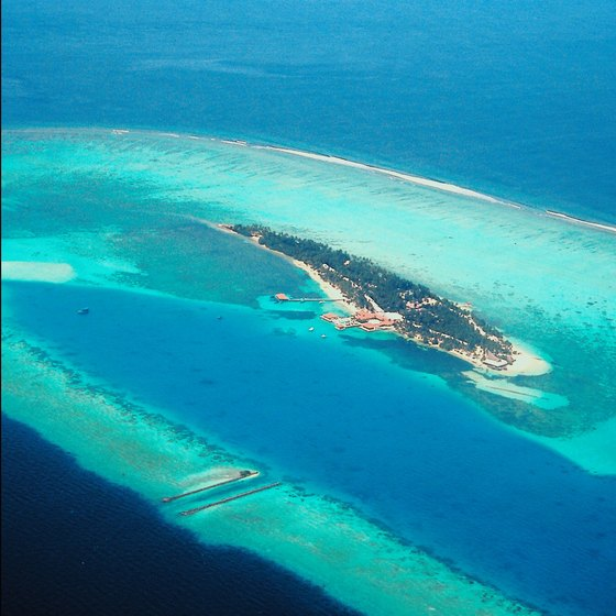 The Maldives define the image most people have of blissful tropical islands.