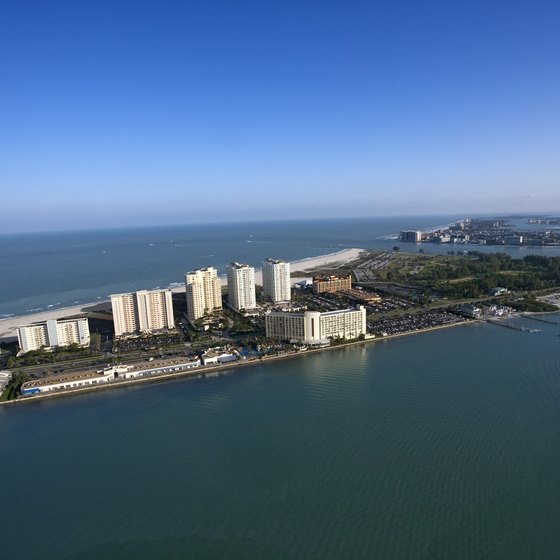 Clearwater Beach is served by St. Petersburg/Clearwater and Tampa international airports.