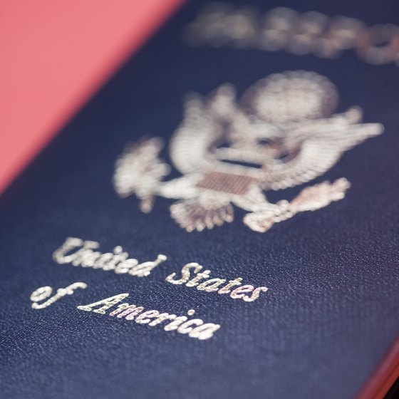Have your passport ready for international travel.