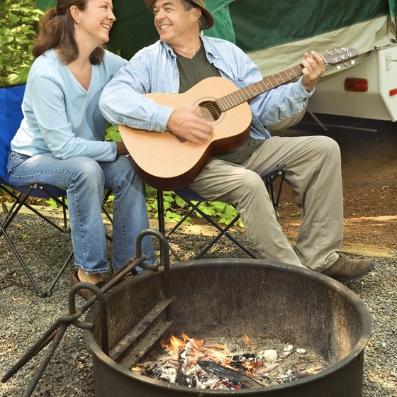 Serenading your wife can set the stage for romance.
