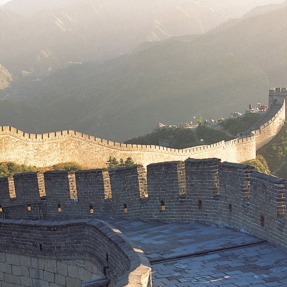 The Great Wall of China is among the seven wonders of the world.