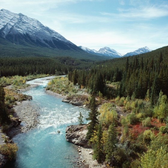 Alberta's national parks offer a host of activities for outdoor enthusiasts.