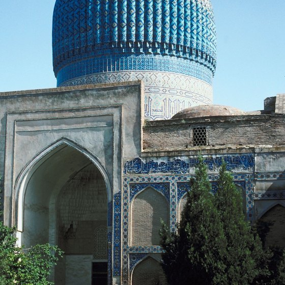 Uzbekistan is home to UNESCO World Heritage sites.