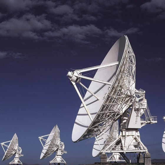 The Socorro region is home to the world's most famous radio telescopes, known as the Very Large Array.
