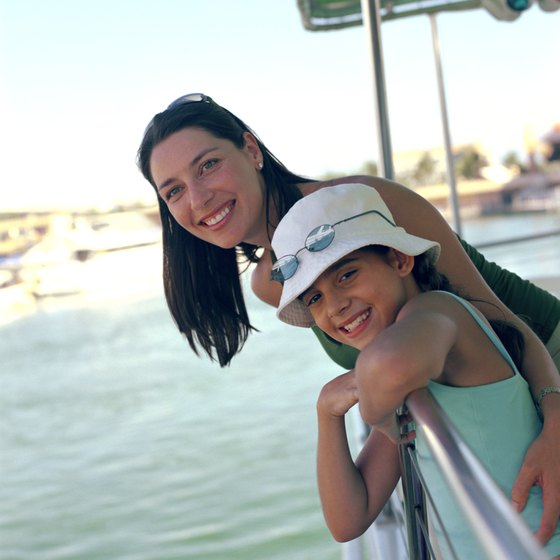 Boat tours offer a fun way for families to see Captiva Island.