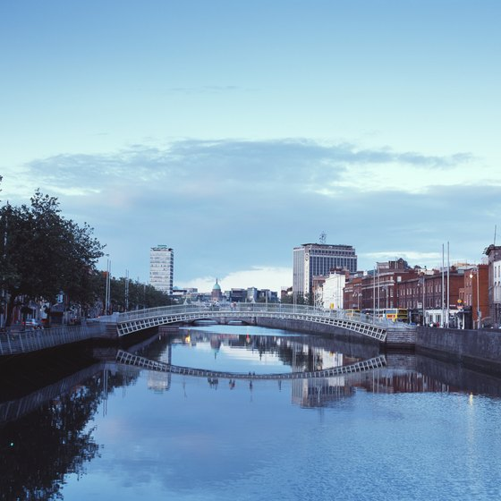 Most tours of Ireland include some time in picturesque Dublin.