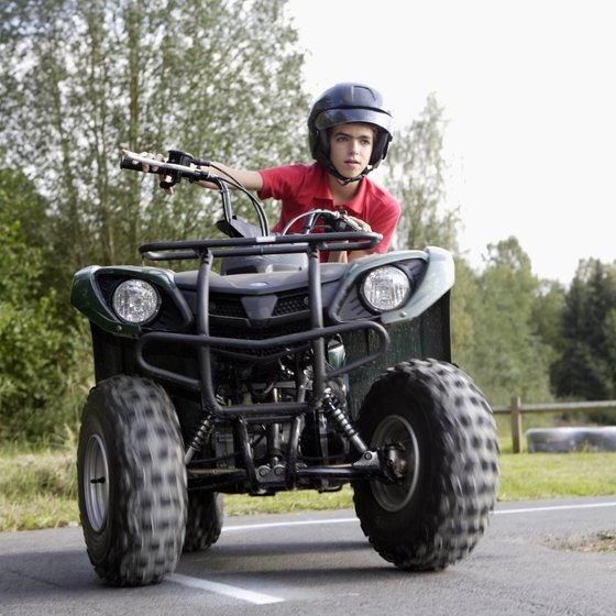 In California, ATV riders under age 14 must be under the direct supervision of an adult at all times.
