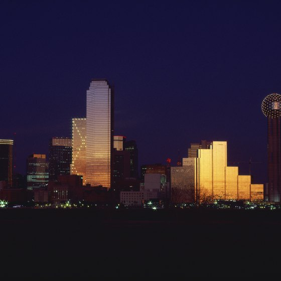 Dallas is one of the largest U.S. cities.