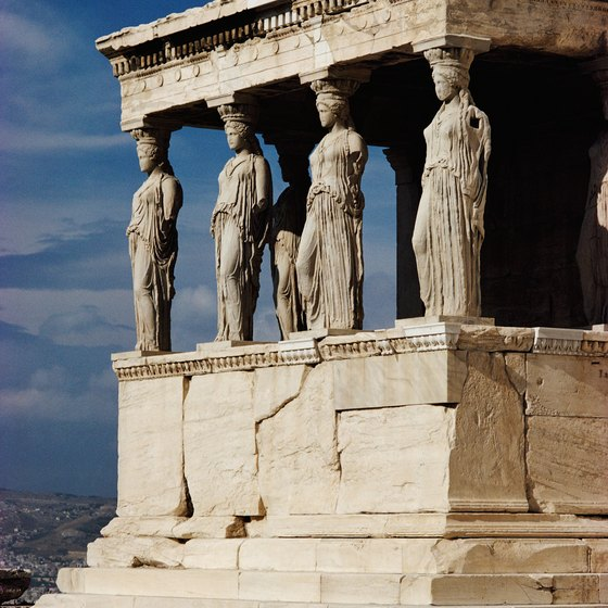 Athens is a common departure or arrival point for tours in Greece and Italy.