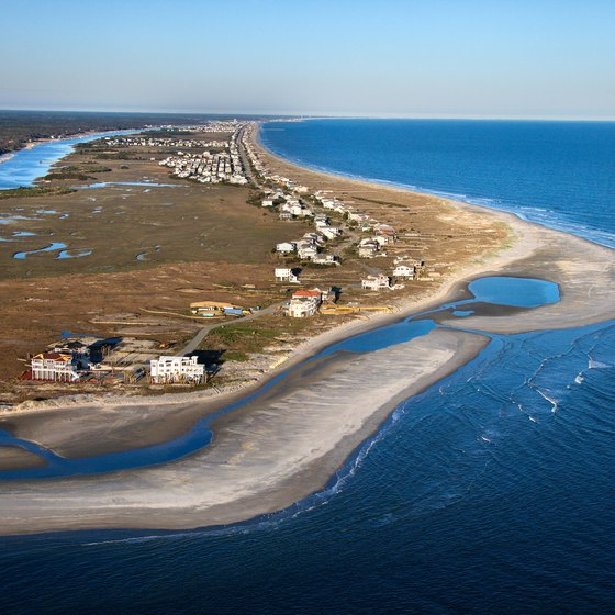 Secluded spots along the North Carolina coast provide scenic beauty and moments of solitude.