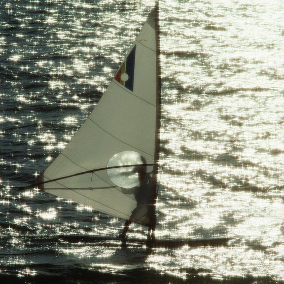 Dewey Beach is a prime location for water sports such as windsurfing, kite-boarding and sailing.