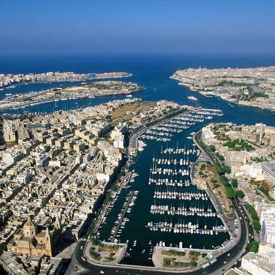 Valletta, Malta's capital, is a UNESCO World Heritage Site.