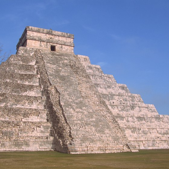 Vacationers can book hotels just steps away from Chichen Itza.