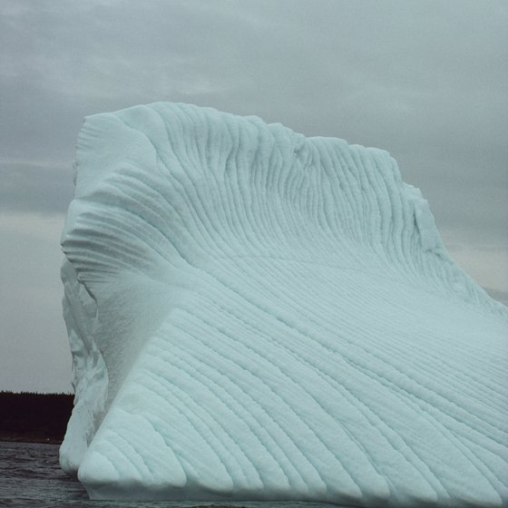 Icebergs are among the many things to watch float by Newfoundland in spring.