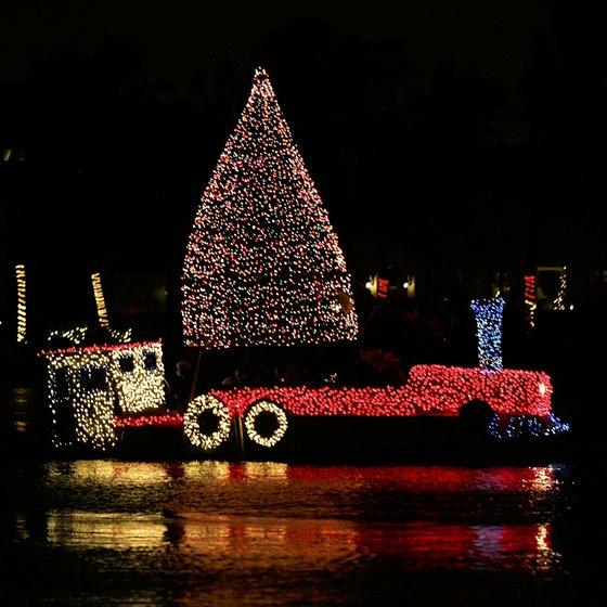 Fort Lauderdale's Winterfest Boat Parade celebrated its 40th anniversary in 2011.