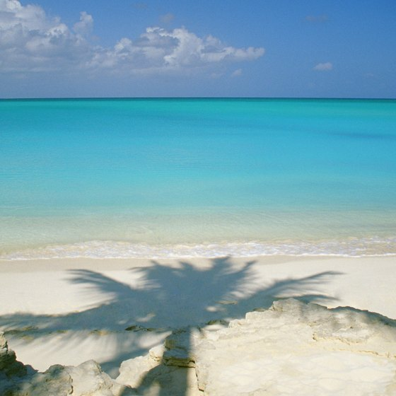 Grace Bay in the Turks and Caicos