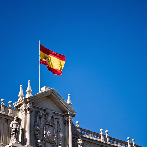 Spain is a popular tourist destination from the UK.