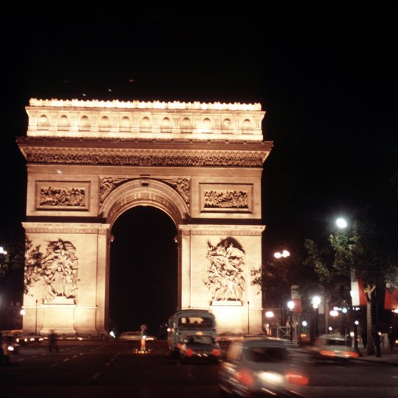 A Paris Pass can put you at the top of the Arc de Triomphe at no extra cost.